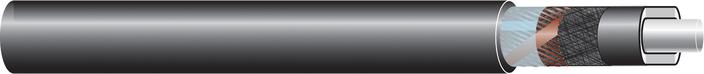 Image of 33kV single core cable XLPE-AL-RE-FB-ST, AL screen cable