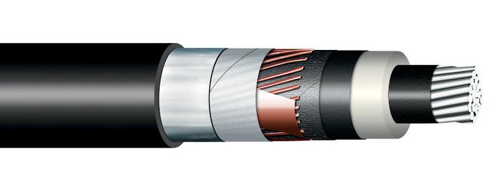Image of XLPE Al single core cable